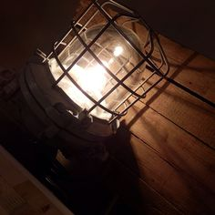 Our Best of the Past -Industrial Vintage lamps are all original pieces, newly wired and ready for use @ home. This 'heavy duty' model was used in factories in former Czechoslovakia. One of our selling points is @Homestock Haarlem, Holland where they took this lovely picture.