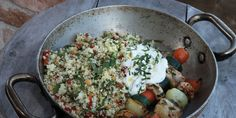 Broilerivartaat ja kuskus Lidl, Cobb Salad, Food, Eten, Meals, Diet