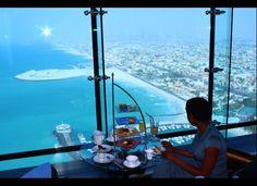 Afternoon Tea at the Burj-Al-Arab