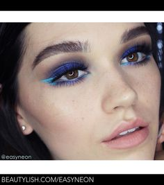 Blue Fire | Diana C.'s (easyNeon) Photo | Beautylish