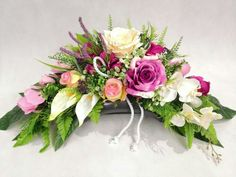 Table Arrangements, Floral Arrangements, Cemetery Flowers, Sympathy Flowers, Unusual Flowers, Ikebana, My Flower, Flower Decorations, Funeral