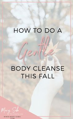 How to Do a Gentle Body #Cleanse This Fall // Mary Sabo, The Singing Yogi -- #healthyliving #fallcleanse Weight Loss Drinks, Best Weight Loss, Wellness Tips, Health And Wellness, Gut Health, Best Body Cleanse, Best Way To Detox, Gentle Detox, How To Relieve Heartburn