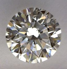 0.9-Carat Round Cut Diamond    This Very Good-cut E-color, and SI2-clarity diamond comes accompanied by a diamond grading report from EGLNY   $3732.75