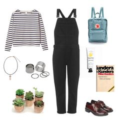 """""""it's me"""" by ddazedconfused ❤ liked on Polyvore featuring Monki, Topshop, Fjällräven and Pieces"""