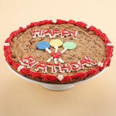 Giant 12 Mrs. Fields Happy Birthday Cookie Cake