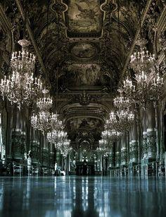 Paris Opera Hall - absolutely beautiful