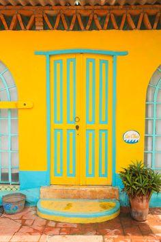 Casa colorida de Sayulita #ViajeroGourmet #FoodAndTravelMX