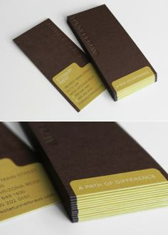 Dark Color........business card.
