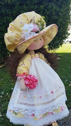 New Ideas Crochet Toys Dolls American Girls Homemade Dolls, Fabric Toys, Bear Doll, Country Crafts, Lol Dolls, Fairy Dolls, Doll Crafts, Doll Patterns, Beautiful Dolls