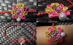 Come celebrate your sibling!Pure handmade love for your sidekick, partner in… Mobile Accessories, Other Accessories, Quilling Rakhi, Handmade Rakhi, Rakhi Design, Ppr, Paper Quilling, Hobbies And Crafts, Baby Items