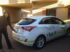 Ninette is another one of our biobalance brand ambassadors hitting the streets in her newly branded ride.