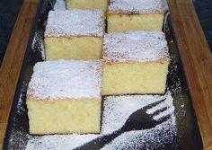 Pillekönnyű grízes-túrós kevert Baby Food Recipes, Baking Recipes, Cookie Recipes, Hungarian Recipes, Almond Cakes, Sweet Desserts, Coffee Cake, No Bake Cake, Sweet Tooth