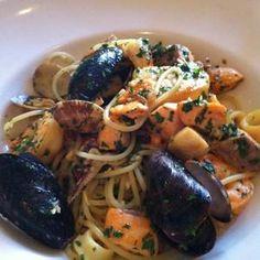 Prosecco #seafood #pasta