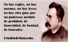 No se odia mientras se menosprecia. No se odia más que al igual o al superior.  Friedrich Nietzsche.