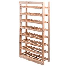 Make it smaller, with wine storage on the bottom and beer storage at top.