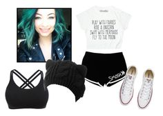 """Untitled #48"" by shadow-lullaby on Polyvore featuring Converse"