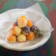Découvrez la recette Croquettes de pommes de terre violettes, carottes et épinards sur cuisineactuelle.fr.