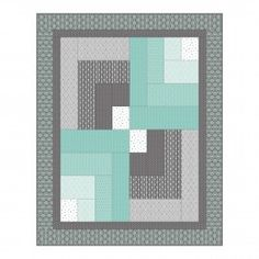 """Simple """"Quilt Bars"""" quilt from Camelot Fabrics. Tutorial after jump."""