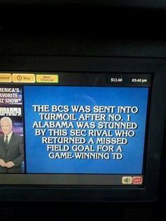 Who are the Auburn Tigers?  (on Jeopardy!)