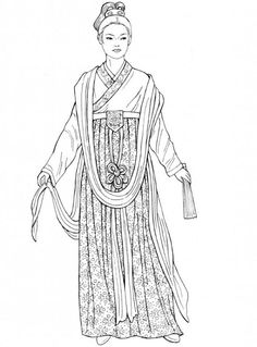 Song Dynasty woman costume