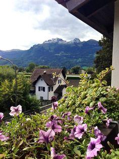 Vaduz, Liechtenstein by Necessary Indulgences. #vaduz #liechtenstein