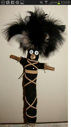 This my Voodoo Doll.  I am going to use it on ppl mean to me.   Lol