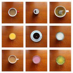 Typology - Drinks (birds eye view)