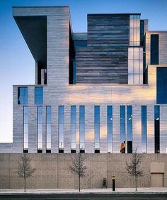 #UnitedStates Courthouse by Mack Scogin Merrill Elam Architects, #Austin #Texas #Usa ... Via my friend @whisky.arch