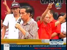 Kampanye Jokowi Di Subang Jawa Barat