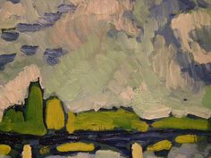 Maurice de Vlaminck, The Seine at Chatou, 1906, detail 4 by DeBeer, via Flickr
