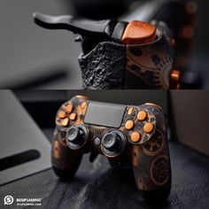 SCUF Infinity SteamPunk Series controllers, for Xbox One and PlayStation. Custom, Handcrafted Controllers that Increase Hand Use and Improve Gameplay.