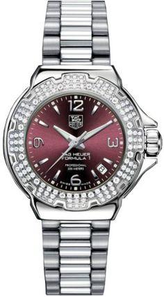 TAG Heuer Women's WAC1219.BA0852 Formula 1 Glamour Diamond Watch TAG