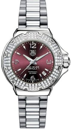 TAG Heuer Women's WAC1219.BA0852 Formula 1 Glamour Diamond Watch TAG