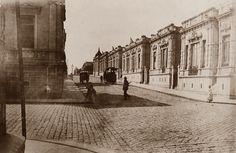 1895 - Rua Conselheiro Nébias na região de Campos Elíseos.