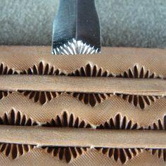 Leathercraft Stamps - Поиск в Google Tandy Leather, Leather Art, Sewing Leather, Saddle Leather, Leather Pattern, Leather Design, Leather Tooling, Leather Jewelry, Leather Working Patterns