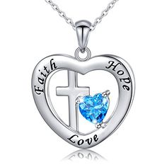 fb6d4af484a44 1678 Best Silver Cross Necklaces images in 2019 | Drop necklace ...