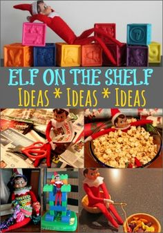 Elf on the Shelf Ideas - See Mom Click. We have 3+ years of ideas for you!