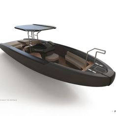 Building your own boat can be cheaper than buying a manufactured boat. A boat that you have made yourself can b Yacht Design, Boat Design, Design Lab, Center Console Fishing Boats, Rib Boat, Sport Boats, Build Your Own Boat, Boat Kits, Yacht Interior