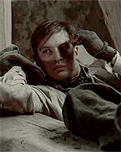 GIF: Tommy as Jack Rose - Colditz (2005) / TH0039