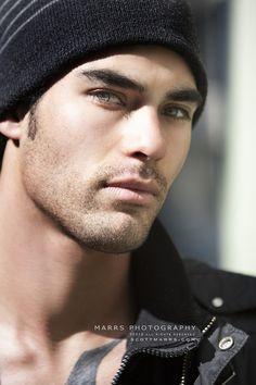 Ivan Contreras, photo by Scott Marrs, for Look Model Agency