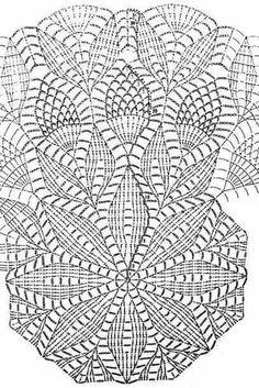 Free Crochet Doily Patterns, Crochet Doily Diagram, Crochet Flower Tutorial, Crochet Borders, Crochet Instructions, Filet Crochet, Diy Crochet, Crochet Doilies, Crochet Flowers