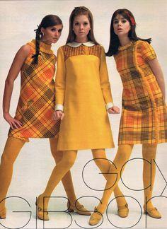 Seventeen 1967. Regine Jaffrey, Terry Reno and Colleen Corby.