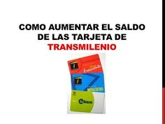 Como cargar tu tarjeta de transmilenio GRATIS - YouTube