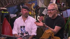 See scenes from -- and go behind the scenes of -- the MythBusters Star Wars special.
