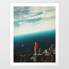 Saudade Greeting Card by Frank Moth - Set of 3 Folded Cards x Artwork Prints, Fine Art Prints, Collage Art, Collage Vintage, Collages, Folded Cards, Buy Frames, Moth, Cool Art