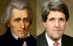 pAndrew Jackson - John Kerry
