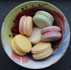 These little delights were heading off to a wedding blogger - we have rhubarb and custard macarons, pistachio macarons, blackberry macarons (with a signature secret centre of homemade blackberry jelly), coconut and pineapple macaron, vanilla macaron and Lady Grey macaron. All naturally coloured with no artificial flavours. Made with local 'truly' free range eggs too!