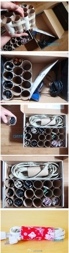 Smart way to store the cables