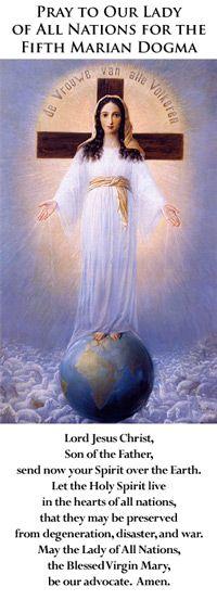 Mother of All Peoples » Mother of All Peoples Bi-Monthly Marian Magazine
