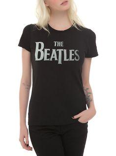 The Beatles Logo Girls T-Shirt,